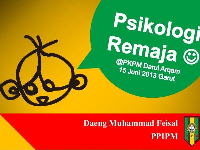 Daeng Muhammad Feisal PPIPM