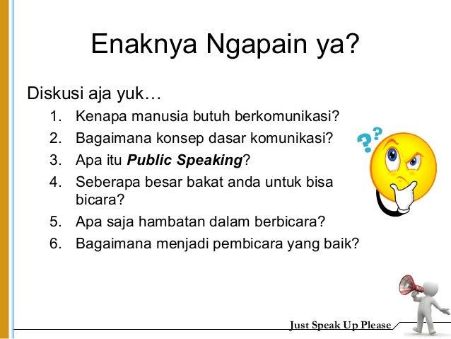 Materi public speaking Slide 2