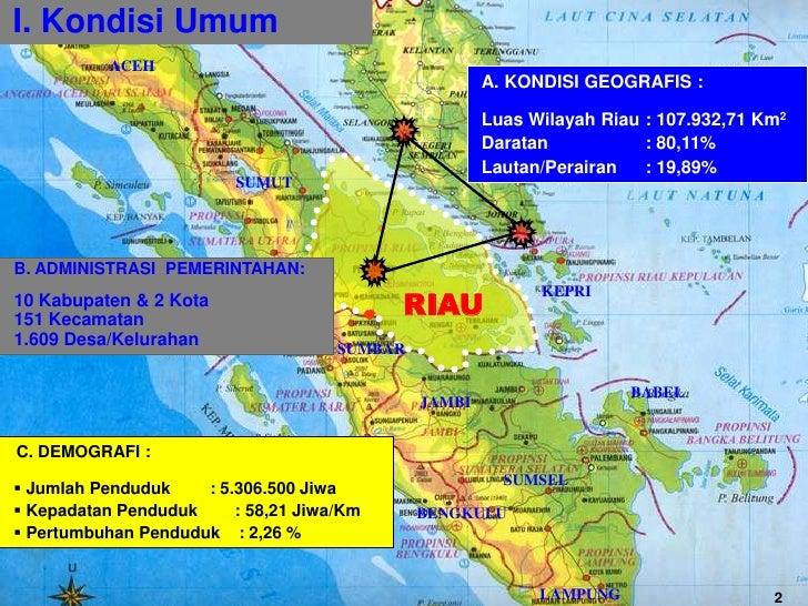 Upaya Pemerintah Riau Dalam Penanggulangan Kemiskinan