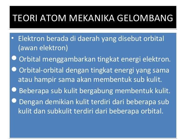 BILANGAN KUANTUMBILANGAN KUANTUM Orbital atom umumnya dideskripsikan sebagai fungsi gelombang dengan bilangan kuantum n, ...