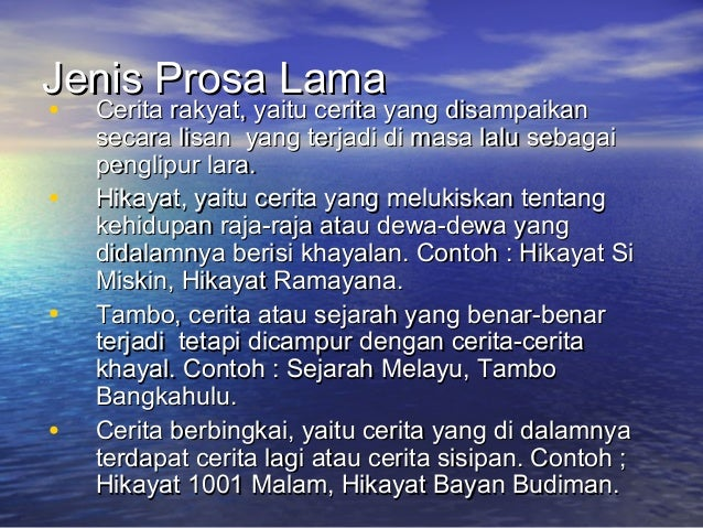 Contoh Hikayat Raja Jumjumah Contoh Loro