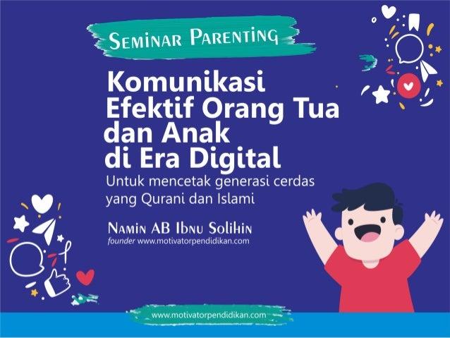 Versi buku saku kemendikbud klik disini Versi mendidik anak di era digital klik disini