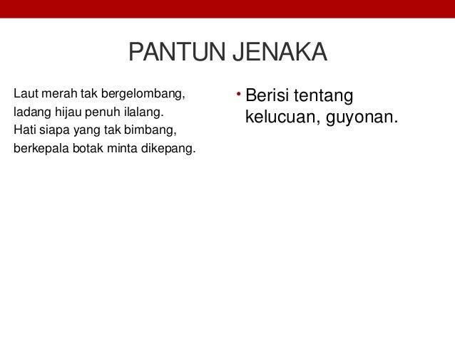 Materi Teks Pantun Bahasa Indonesia Kelas XI [K13]
