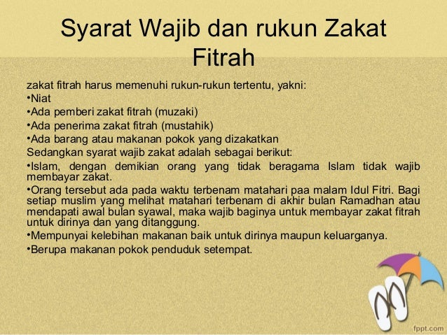 Materi Zakat Fitrah Nikko Ajie Pratama Teknologi Pendidikan