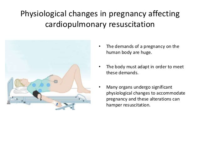 Physiological changes in pregnancy affecting cardiopulmonary resuscitation • The demands of a pregnancy on the human body ...