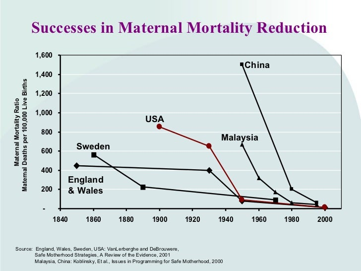 effectiveness of health strategies to reduce maternal mortality Module 14: strategies to reduce disease of the most effective public health interventions the toll of maternal mortality and to reducing the incidence.