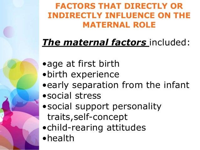 factors influencing the father infant relationship quiz