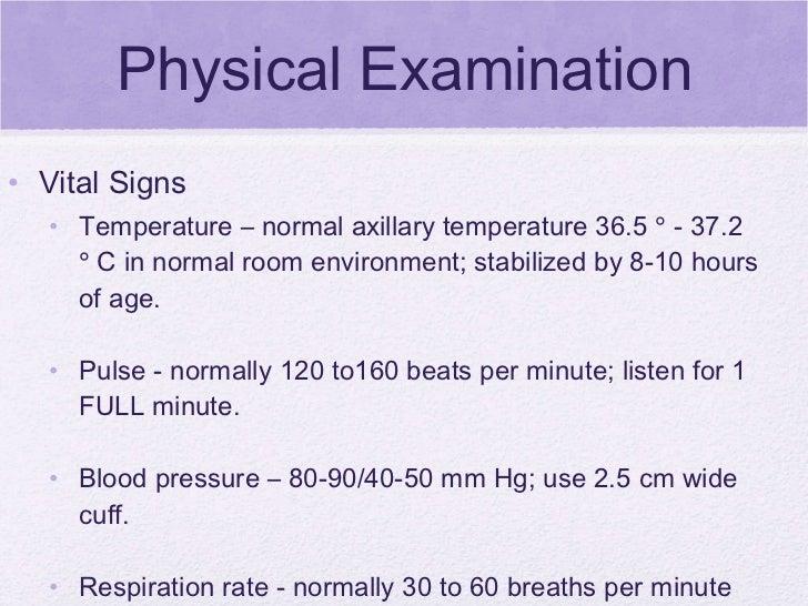 Newborn Health Assessment