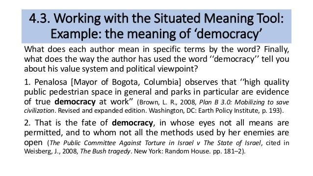 what does democracy mean dictionary