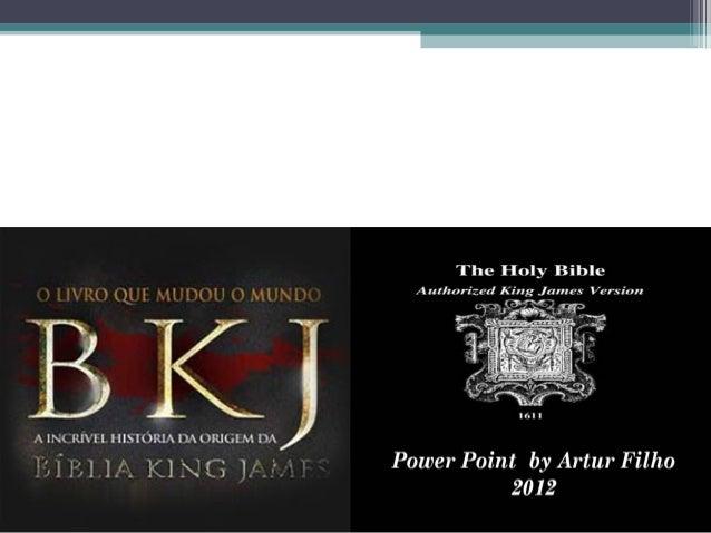 A BÍBLIA KING JAMES VERSÍCULO A  VERSÍCULO E COMENTADA  LOUVADO SEJA O NOME DE JESUS!