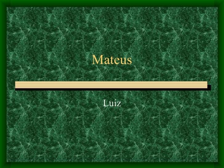 Mateus Luiz