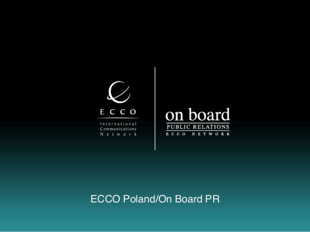 ECCO Poland/On Board PR