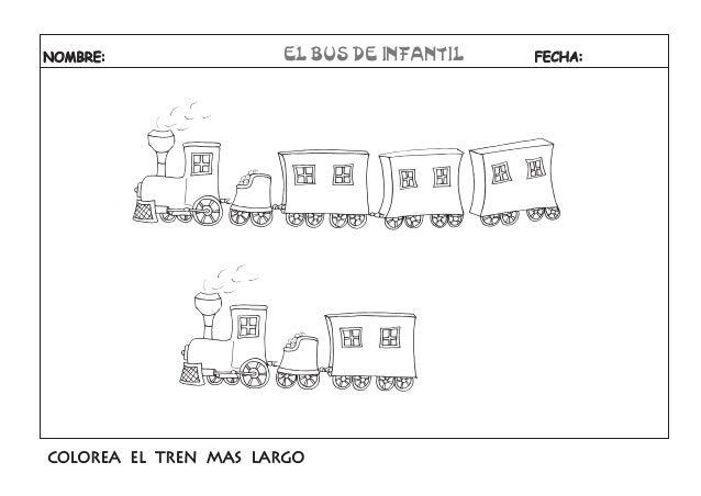Cuentos Infantiles Cortos Para Colorear E Imprimir Imagui: Tren Largo Y Corto Para Colorear Imagui