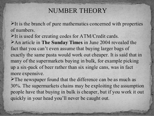 CONCLUSION:  Atthenutshell,wecametoknowabout someoftheapplicationsofthe mathematics.Thesearejustfewin...