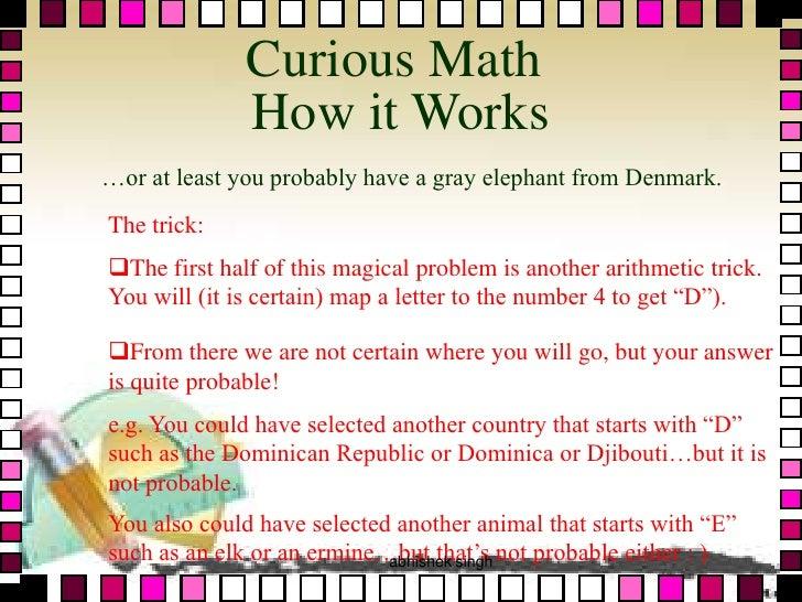 Math e-magic