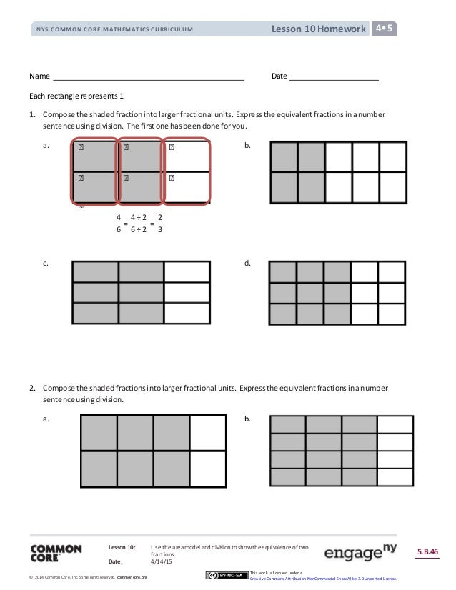 Nys common core mathematics curriculum lesson 10 homework answers