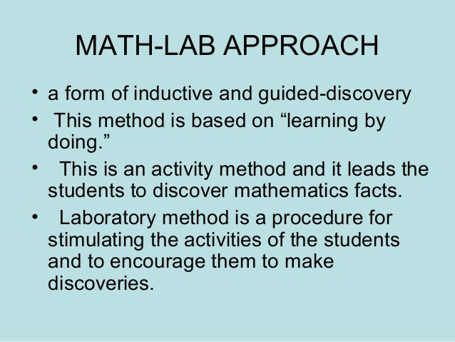 A Guide for Solving Your Lab Math Problems