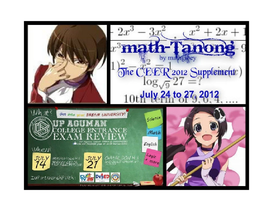 Math-Math-tanong PRACTICE   SET 1 with Solutions