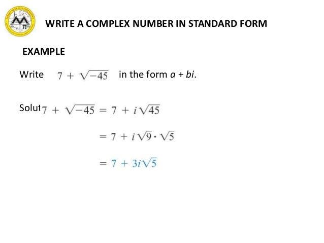 Standard Form A Bi Hossshana