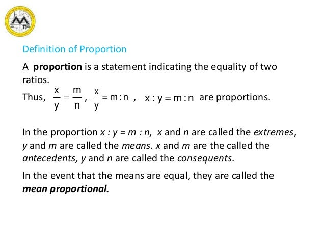 MIT Math Syllabus 10-3 Lesson 9: Ratio, proportion and variation