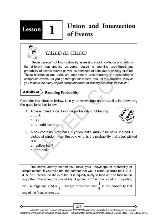 Mathematics 10 Learners Material Unit 3