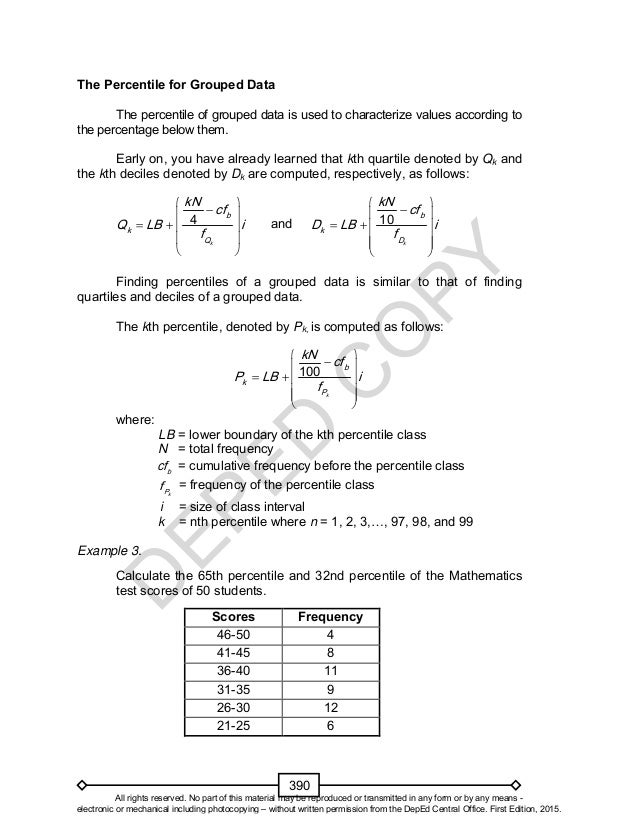 Mathematics 10 Learner's Material Unit 4