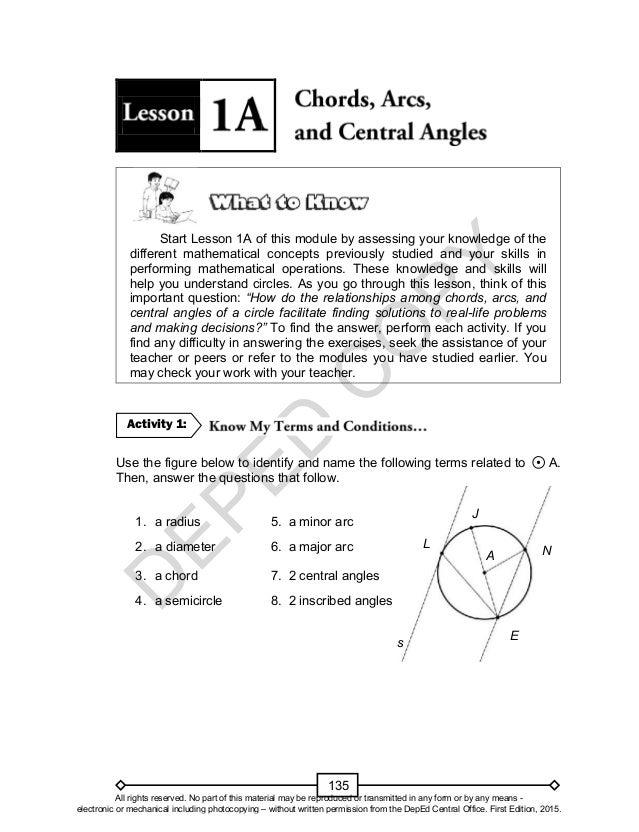math unit lm arcs and chords worksheet answers math best free printable worksheets. Black Bedroom Furniture Sets. Home Design Ideas