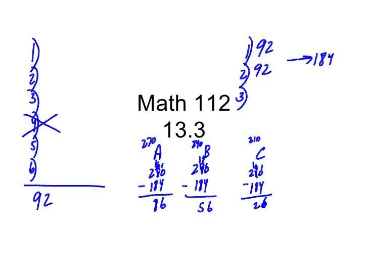 Math 112 13.3