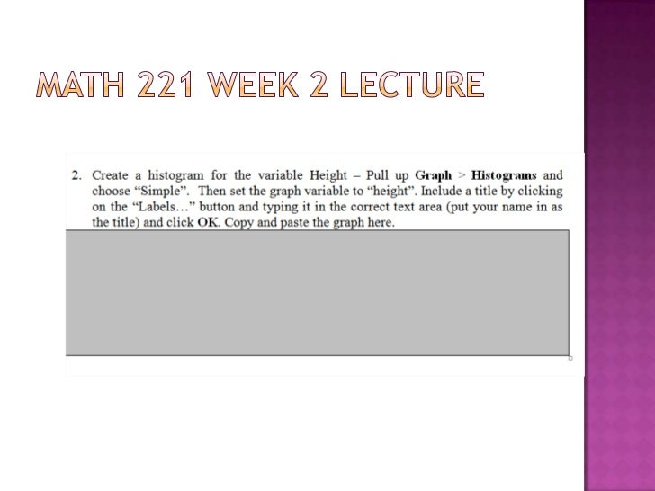 math 221 week 2 lab answers Biology answers chapter 5 math 221 week 3 quiz answers  mcgraw virtual lab punnett squares answers math  mcdougal math course 2 answers dividing.