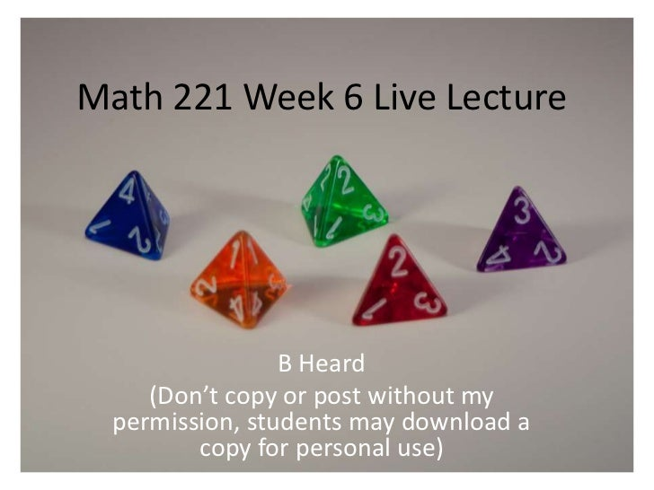 devry MAth221 wee 6 ilab latest 2016 april