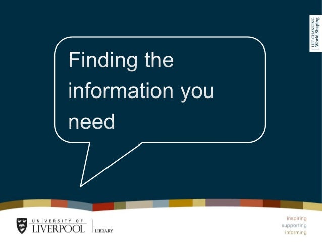 Session outline •Finding ejournals on the Library catalogue •Organising your search before you get started •Discovering fu...