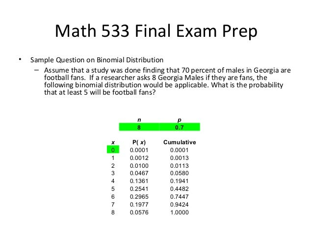 math 156 final exam Math 156 is a 2nd semester calculus class for science and engineering majors who received a score of 4 or 5 on the advanced placement calculus exam (ab or bc) for more details see the course description .