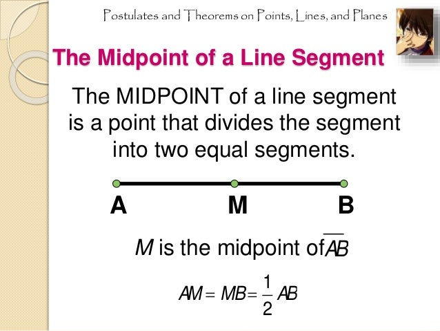 Midpoints and segment bisectors: examples (basic geometry concepts.