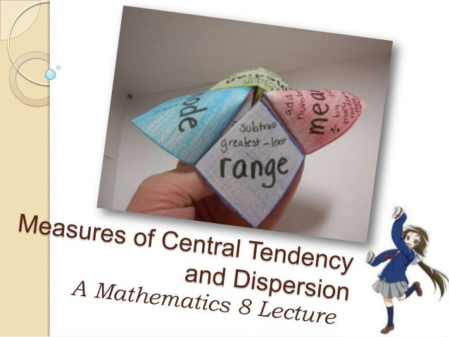 central tendency and dispersion pdf