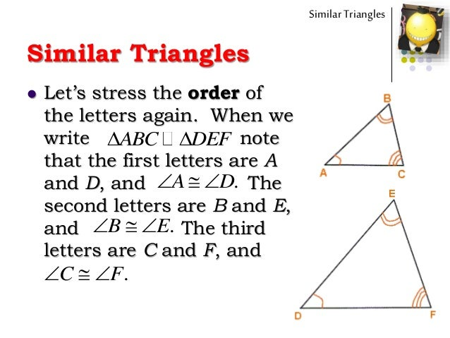 Math 9 Similar Triangles Intro