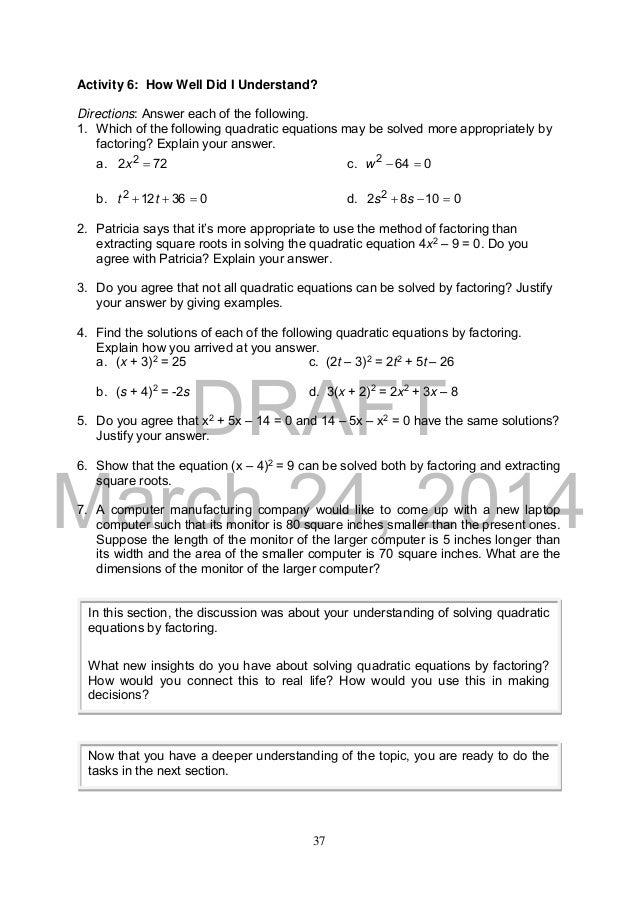 math 9 module 1 2