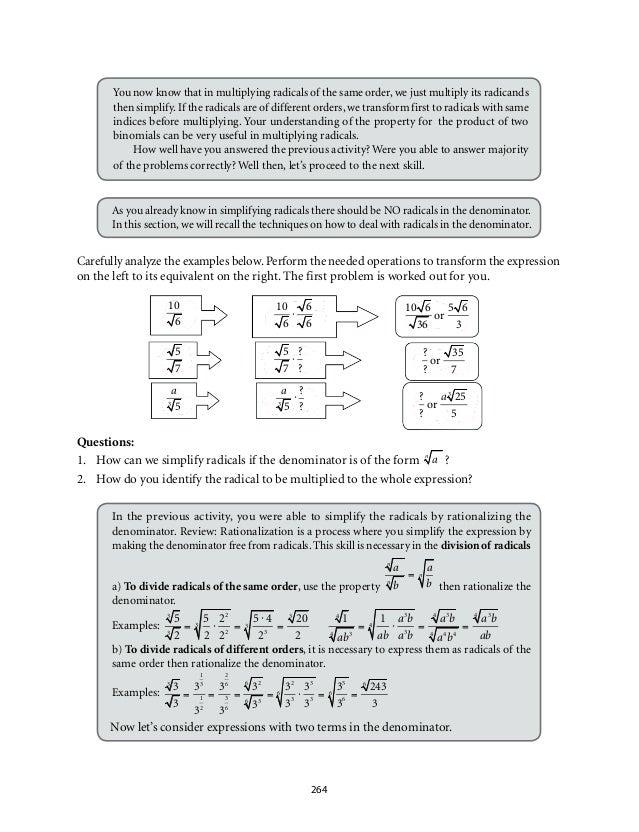 Math 9 (module 4)