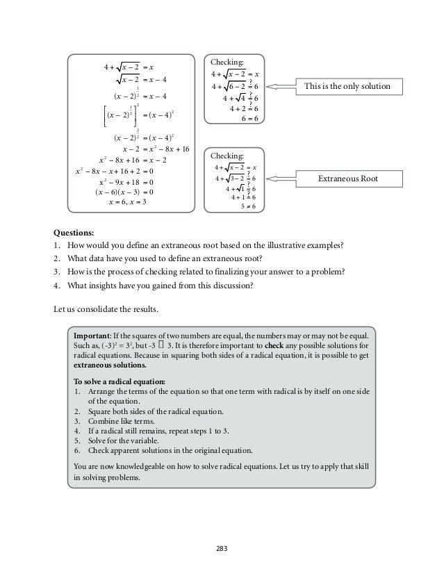 Math 9 Module 4