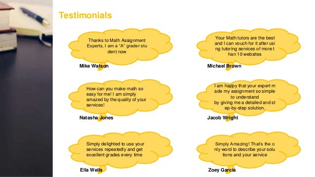 math assignment experts about us  deadline privacy guaranteed 7 testimonials thanks to math assignment experts