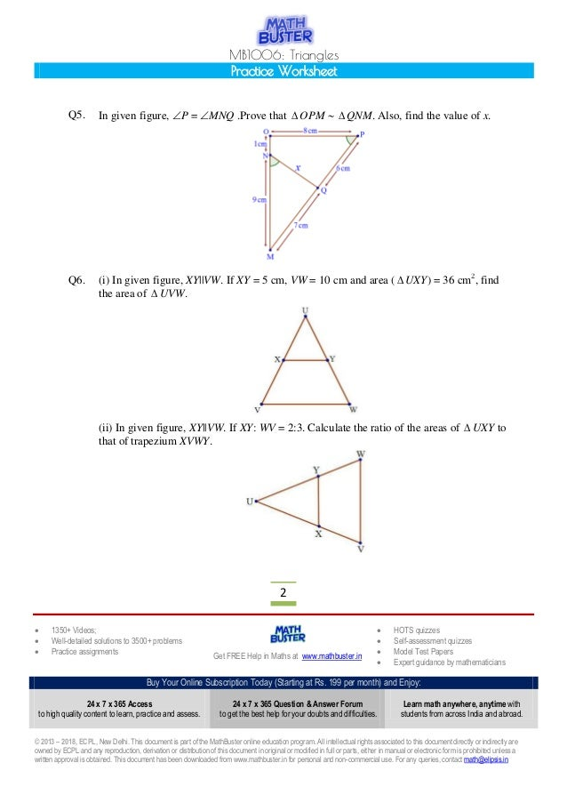 cbse class 10 maths worksheets pdf