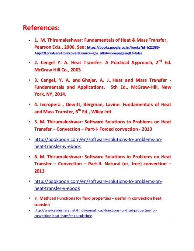 Fundamentals Of Heat And Mass Transfer Ebook