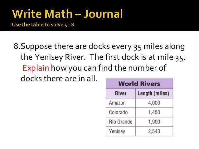 Math chapter 3