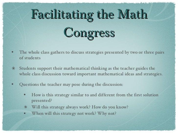 Math congress