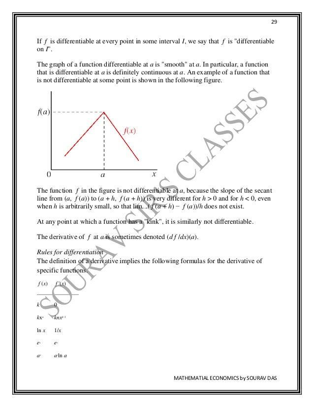 TEXTBOOK ON MATHEMATICAL ECONOMICS FOR CU , BU CALCUTTA
