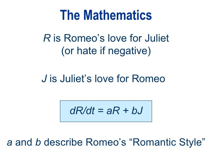 Mathematical Model Of Love Amp Happiness