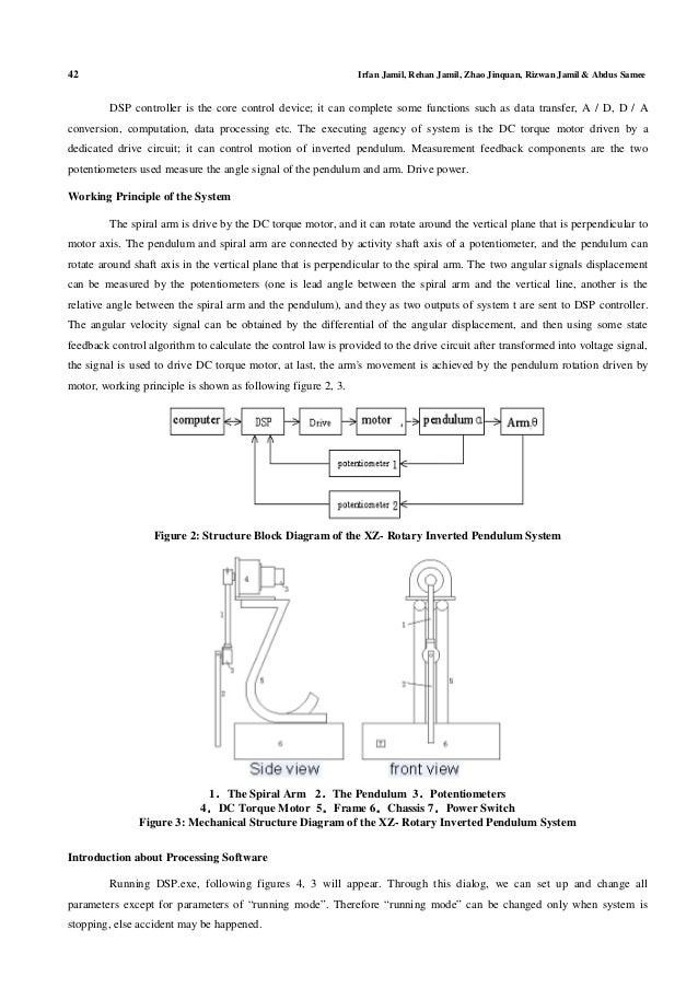 inverted pendulum analysis design and implementation Implementation of inverted pendulum  modeling, analysis, and nonlinear control design of an inverted pendulum plant are discussed by torres-pomales et.