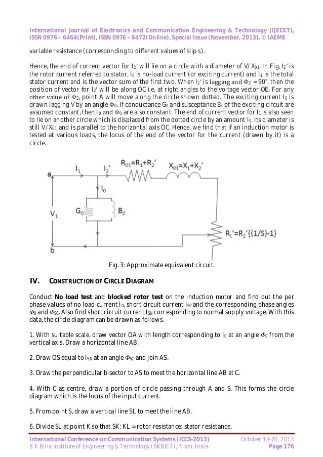 Mathematical modeling of electrical machines using circle diagram 2013 page 175 4 ccuart Gallery