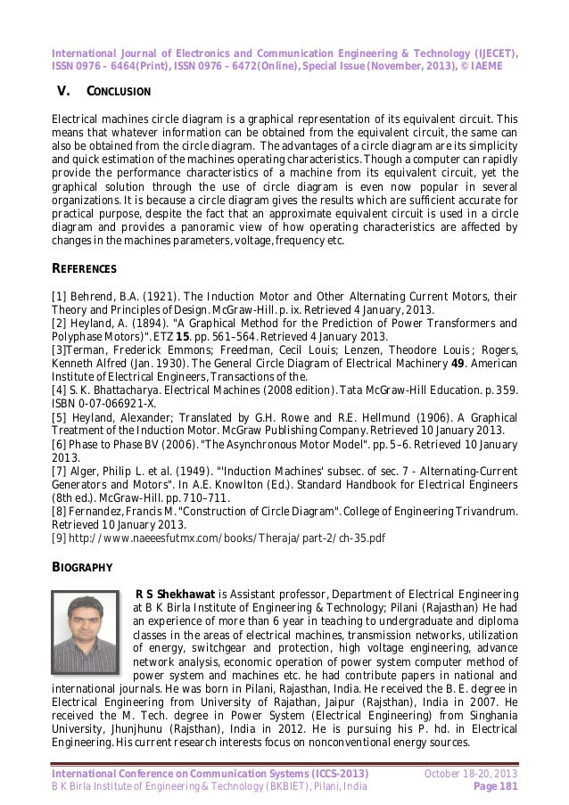 Mathematical modeling of electrical machines using circle diagram 2013 page 180 9 ccuart Images