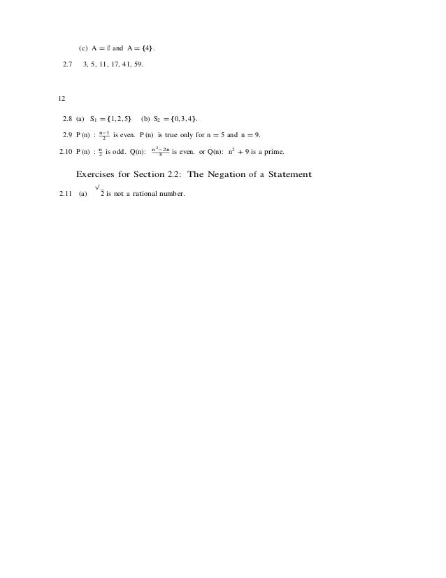 Mathematical proofs a transition to advanced mathematics 3rd edition …