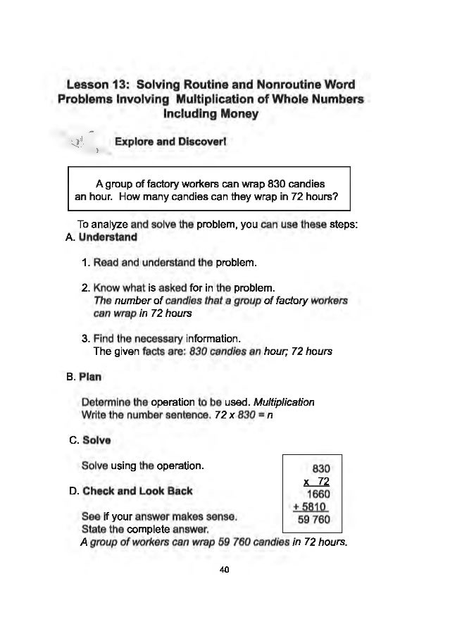 K TO 12 GRADE 4 LEARNER'S MATERIAL IN MATHEMATICS (Q1-Q4)